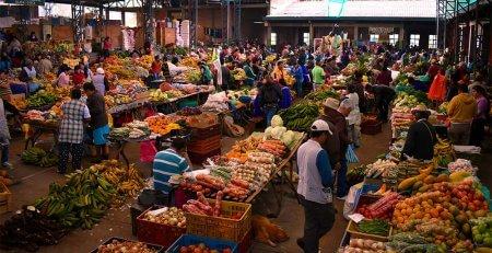 Mercado Indigena en Silvia Cauca